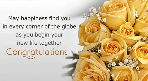 Contoh Ucapan Selamat Menikah Dalam Bahasa Inggris