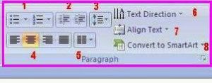 Paragraph PowerPoint 2010