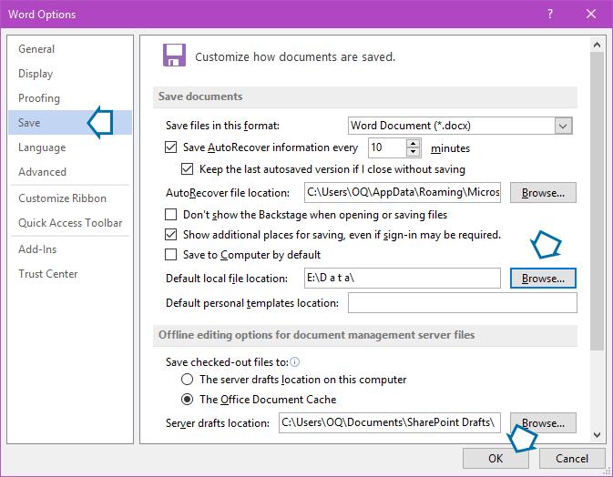 word-save-option