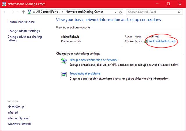 Cara Merubah IP Address pada Windows 10