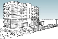 Studi Perilaku Sambungan Balok-Kolom (Beam-Column Joints) Pada Bangunan Struktur Beton Bertulang Komposit (Steel Reinforced Concrete) Akibat Beban Gempa
