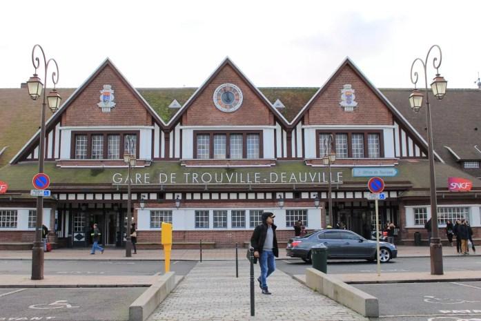 gare station Trouville-Deauville