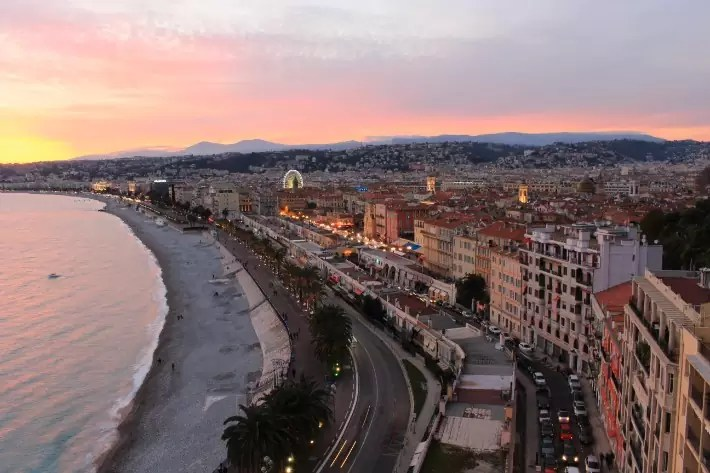 French Riviera, castle hill, what to do in nice france