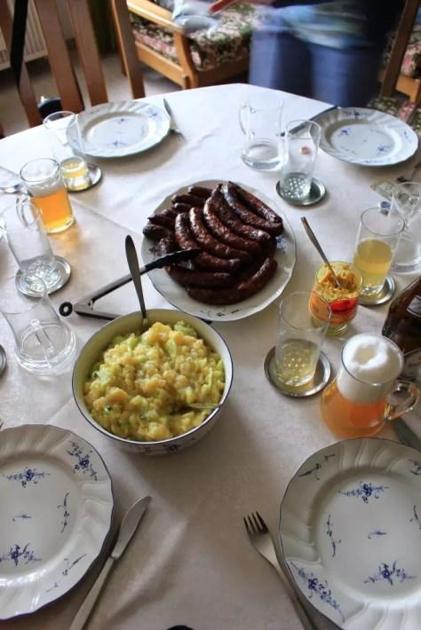 Georgensgmünd Germany sausages