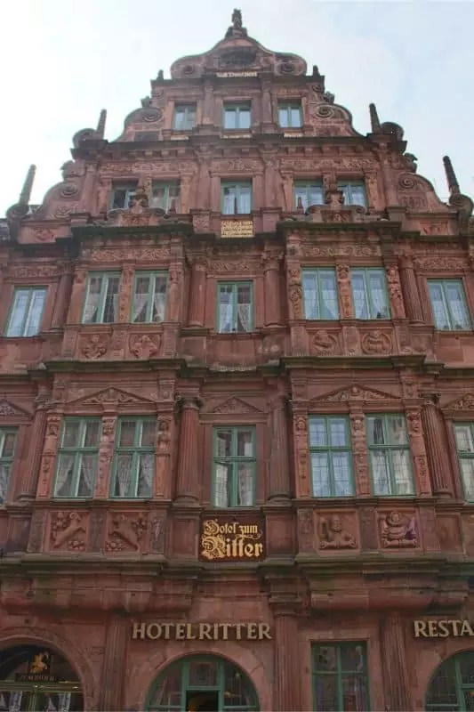 things to do in Heidelberg Germany castle close up