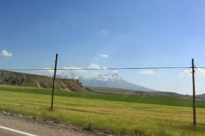 snow mountain, things to do in Cappadocia, Turkey