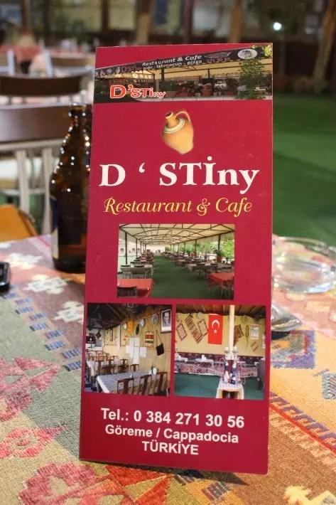 where to eat in Cappadocia, Turkey