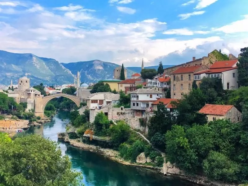 Mostar, Bosnia & Herzegovina, Cheapest Way to Travel Around Europe, Cheapest Places to Visit in Europe