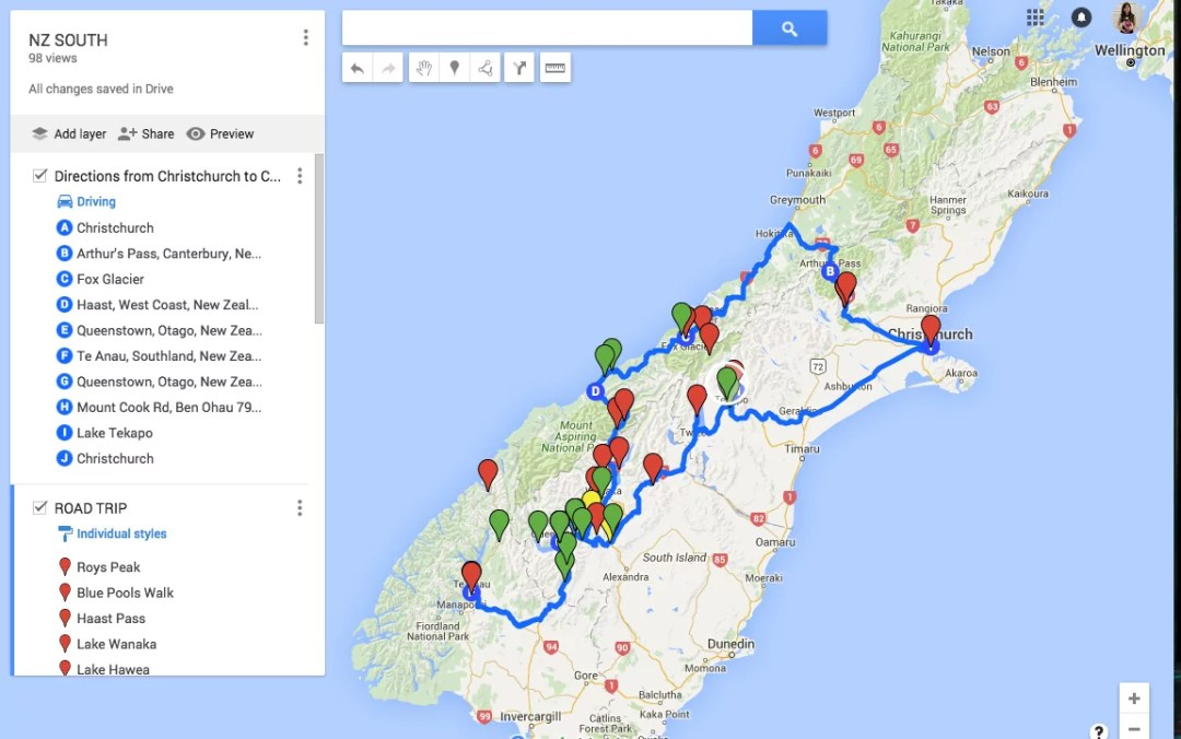 How To Plan A Route On Google Maps (To Use Offline On The Go) | Bel