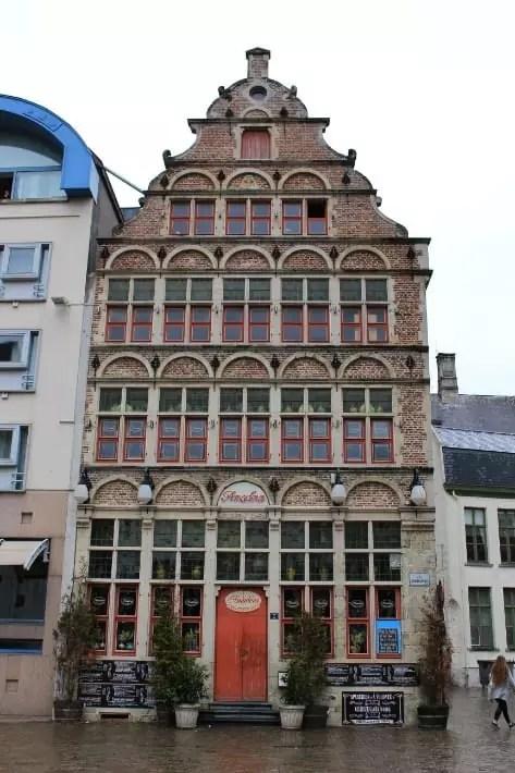 ghent architecture, belgium