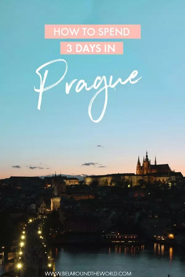 3 days in Prague - find out all about the places to visit at this Czech capital with this easy Prague itinerary! #Prague #CzechRepublic #Europe