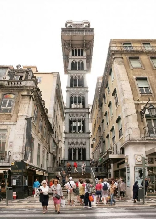 santa-justa-elevator The Best of Lisbon - 8 Things To Do in Lisbon, Portugal