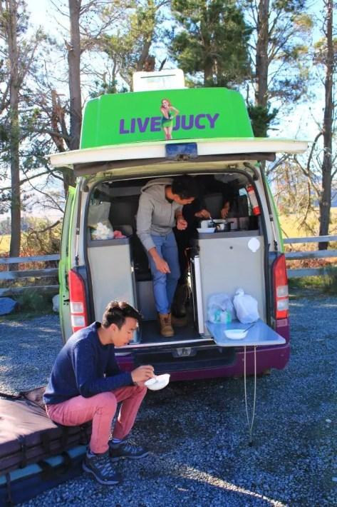 Rent Campervan New Zealand Road trip