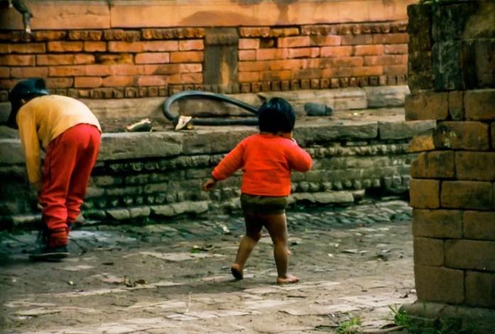 Nepal-Kathmandu-Child