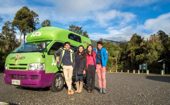 Rent Campervan New Zealand Road trip