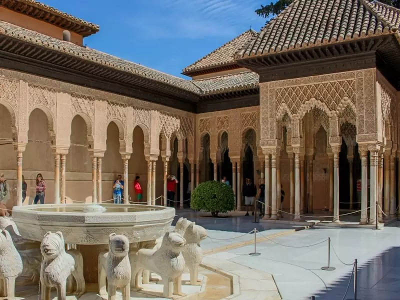 Granada Alhambra Entrance UNESCO World Heritage Site