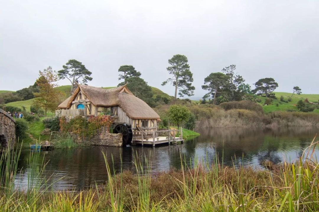 Hobbiton Movie Set Tour Lord of The Rings Matamata watermill