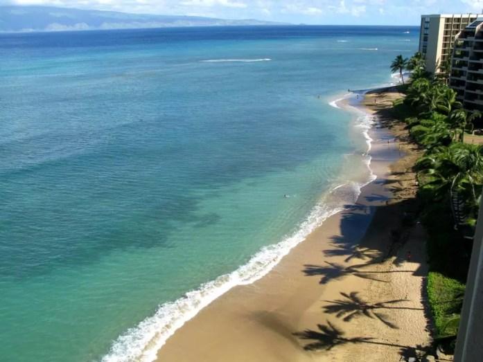 Kahana Beach, Maui, Hawaii