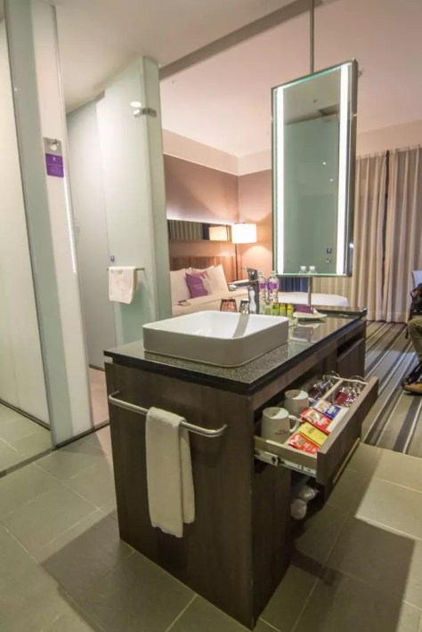 WESTGATE Hotel Taipei sink