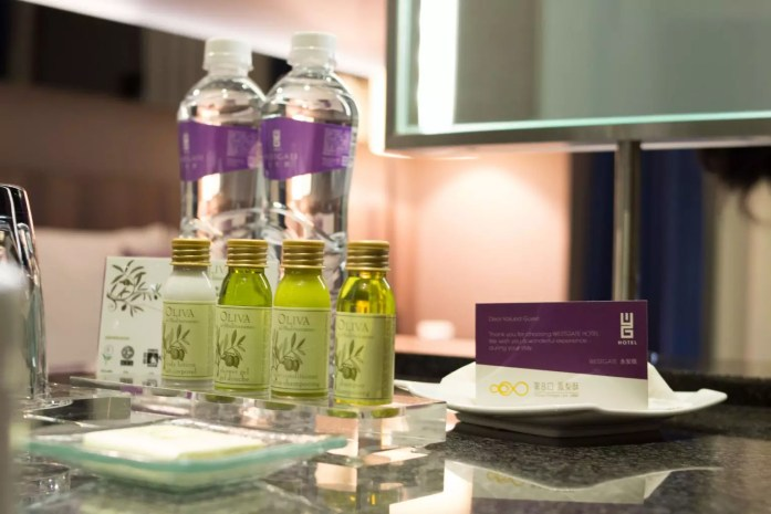 WESTGATE Hotel Taipei toiletries