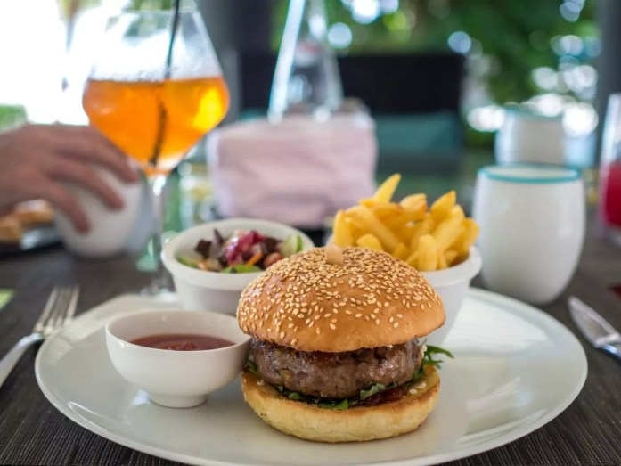 Australian Lamb Burger