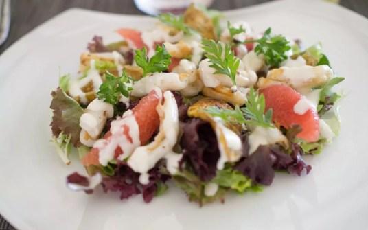 Salmon Gravalax Salad