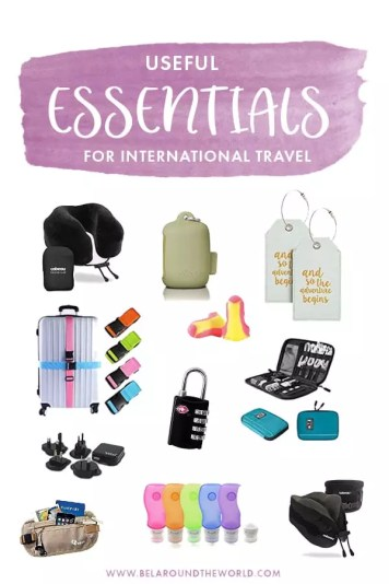 Pack these useful ESSENTIAL travel accessories for smarter travel!