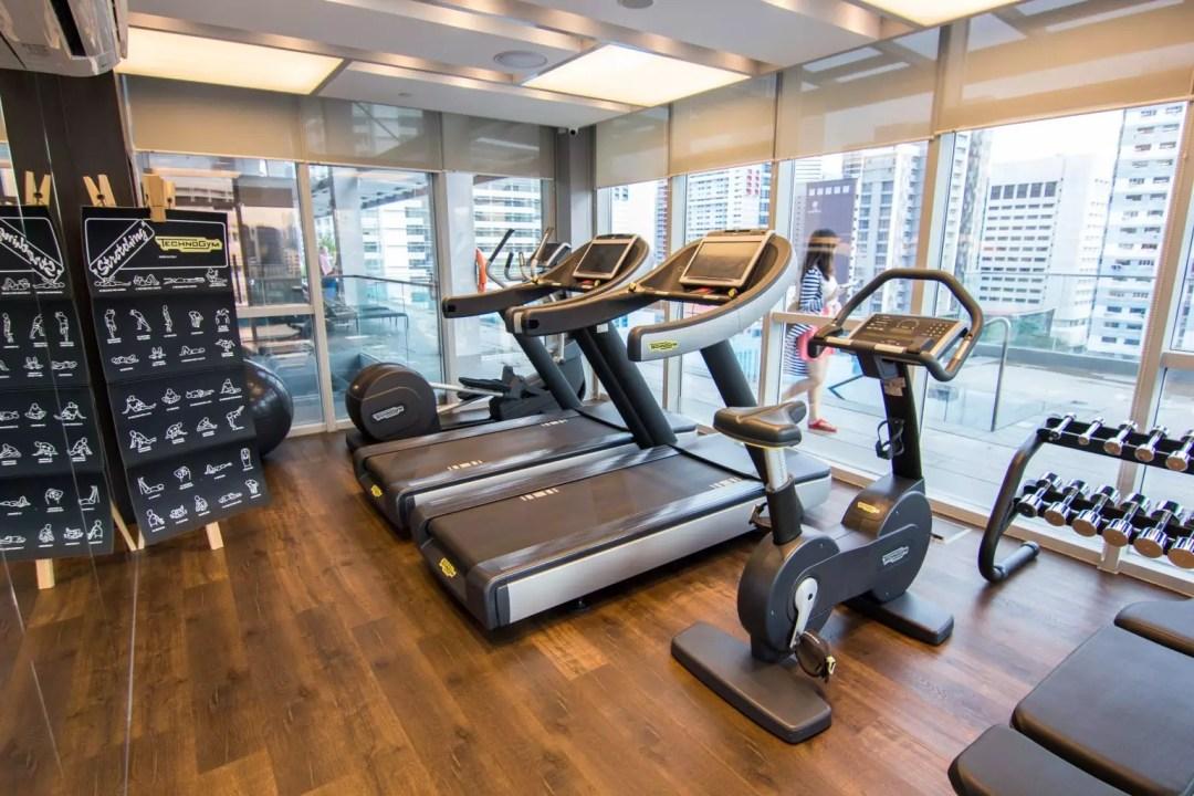Mercure Singapore Bugis gym