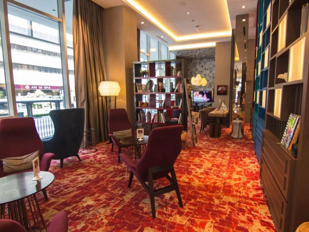 Mercure Singapore Bugis rest lounge
