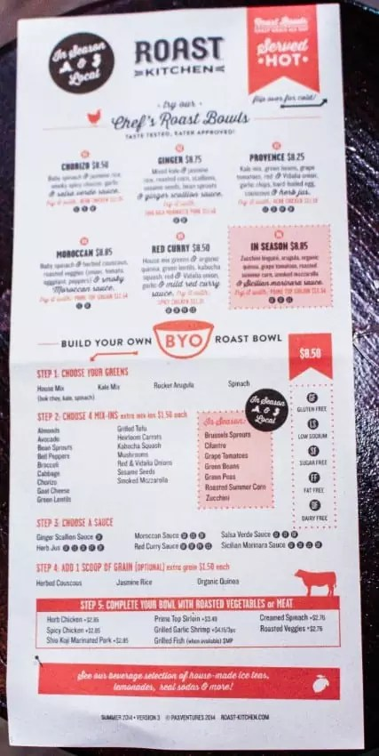 roast kitchen menu, nyc restaurants, new york city