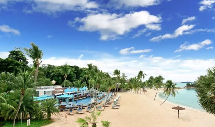 sentosa-singapore nature beach park