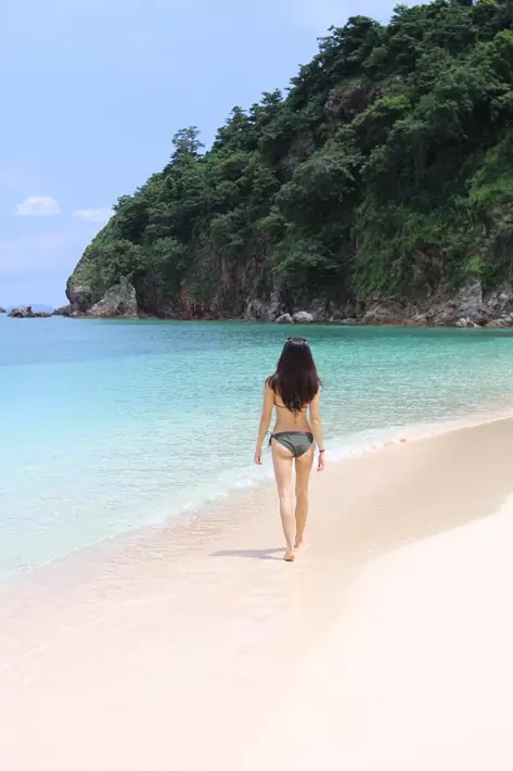 club paradise palawan coron beach bikini
