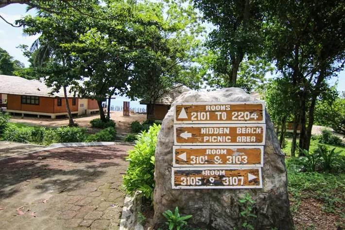 club paradise palawan coron navigation signs, coron palawan hotels
