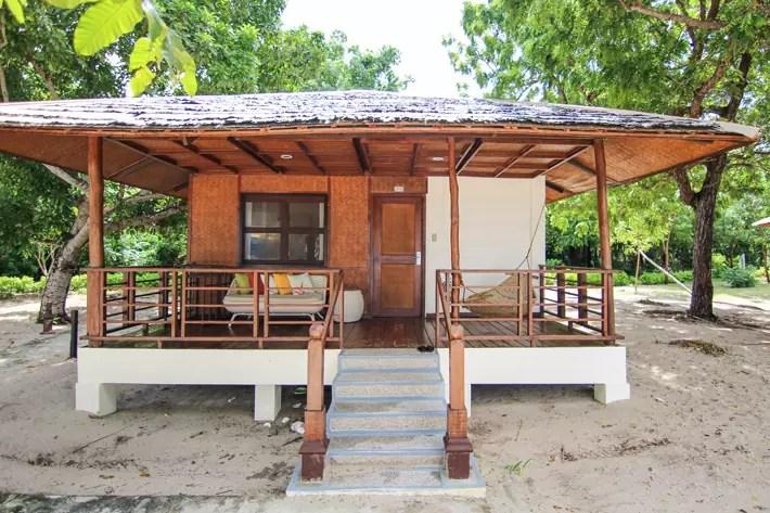 club paradise palawan coron sunset villa porch, coron palawan hotels