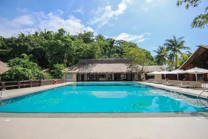 club paradise palawan coron swimming pool, coron palawan hotels