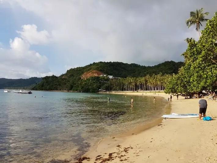 Las Cabanas beach, El Nido, el nido palawan philippines, how to get to el nido, el nido tour package, things to do in el nido