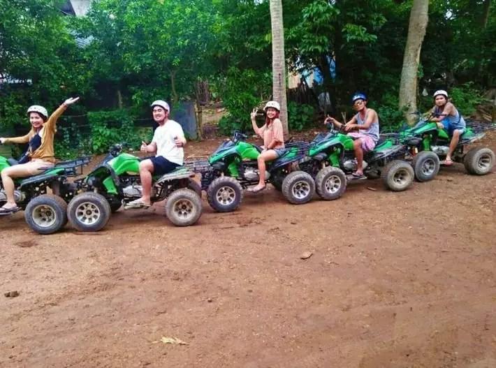 Boracay ATV activities on the beach