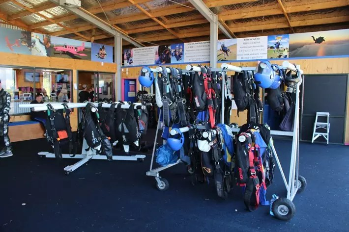 equipment skydive taupo new zealand