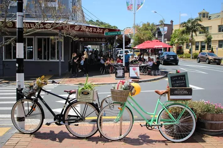 street bicycle devonport auckland new zealand