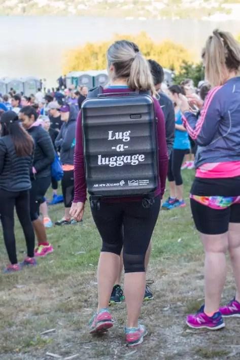Air New Zealand Queenstown International Marathon lug luggage