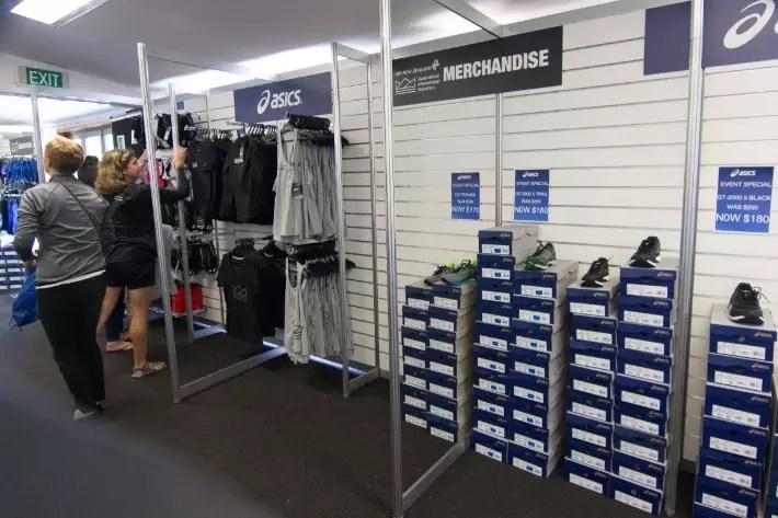 Air New Zealand Queenstown International Marathon merchandise shopping