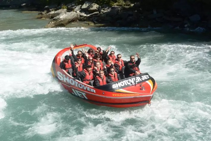 Shotover Jet, things to do in queenstown new zealand in summer