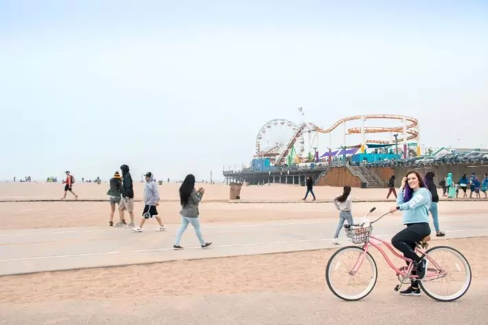 Santa Monica Bike Ride los angeles, 8 Fun Things to Do in LA Today