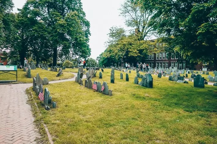 Copp's Hill Burying Ground, 2 Days in Boston, weekend in Boston itinerary