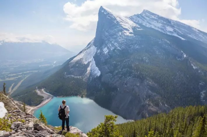 East End of Rundle (EEOR) Trail, Canada, canada road trip itinerary, Canada scenic drives