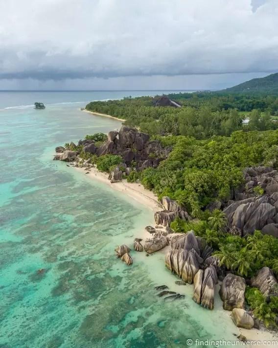 Anse Source D'argent Seychelles - findingtheuniverse; Best drones for travel