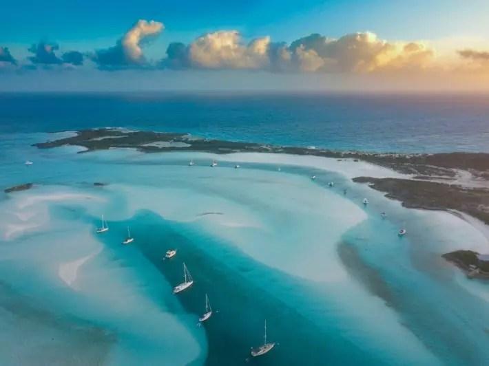 Bahamas - twodustytravelers; Best drones for travel