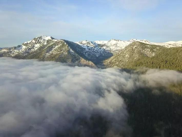 Lake Tahoe, California; Best drones for travel