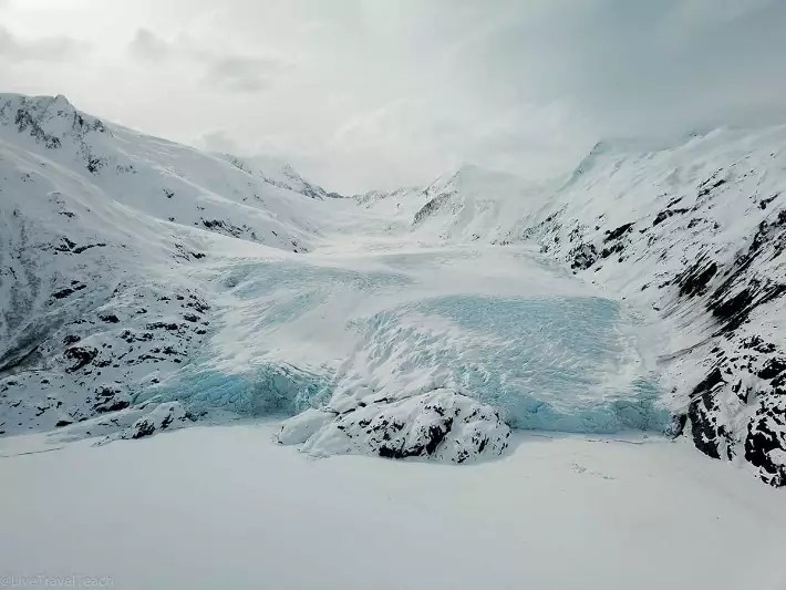 Portage-Glacier-DJI-Mavic-Pro - LiveTravelTeach; Best drones for travel
