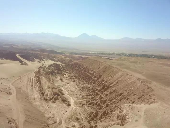 Valley of Death, San Pedro de Atacama, Chile - universoviajero; Best drones for travel
